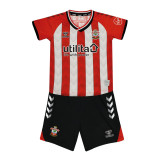 Kids Southampton 21/22 Home Jersey and Short Kit