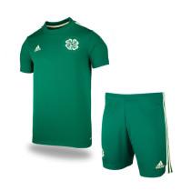 Kids Celtic 21/22 Away Jersey and Short Kit