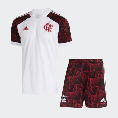 Flamengo 2021 Away Jersey and Short Kit