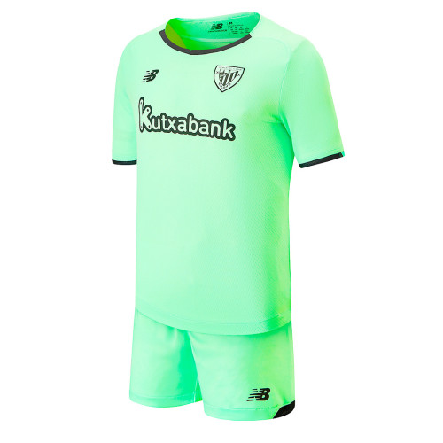 Kids Athletic Bilbao 21/22 Away Jersey and Short Kit