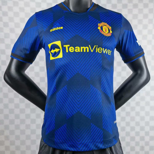 Player Version Manchester United 21/22 Third Authentic Jersey