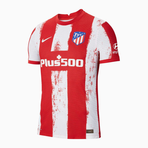 Player Version Atletico Madrid 21/22 Home Authentic Jersey
