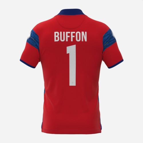 Thai Version Parma Calcio 21/22 Goalkeeper Jersey - BUFFON 1