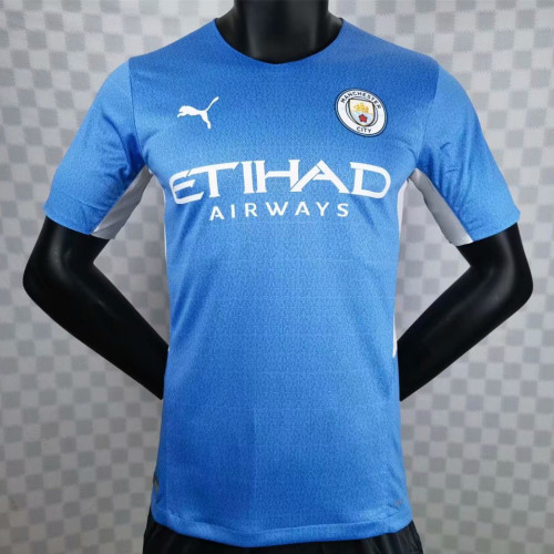 Player Version Manchester City 21/22 Home Authentic Jersey