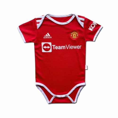 Manchester United 21/22 Home Infant Rompers