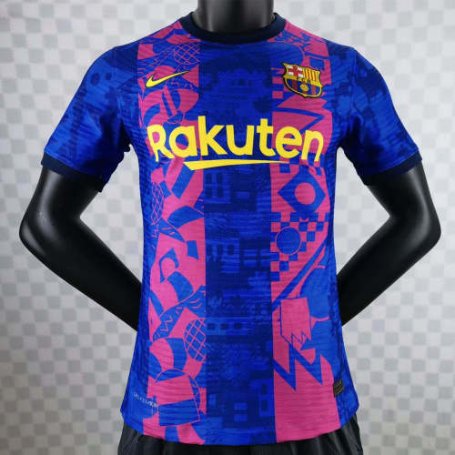 Player Version Barcelona 21/22 Third Authentic Jersey