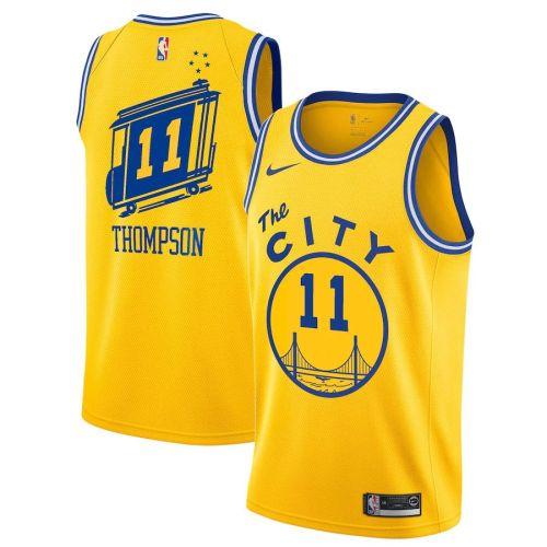 Classic Edition Club Team Jersey - Yellow - Klay Thompson - Mens