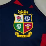 British And Irish Lions 2021 Mens Rugby Singlet - Navy