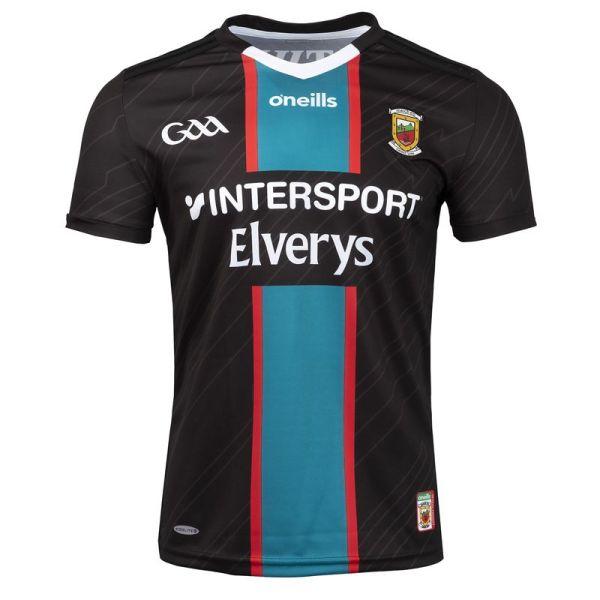 Mayo GAA 2021/2022 Mens 2-Stripe Away Jersey