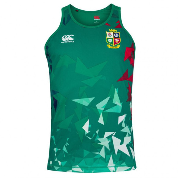 British And Irish Lions 2021 Mens Rugby Singlet - Green
