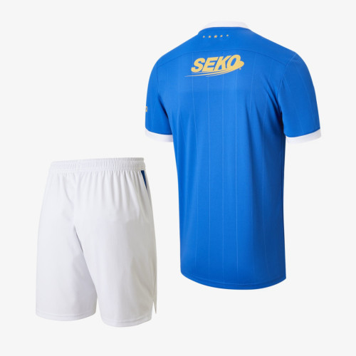 Rangers 21/22 Home 150th Anniversary Jersey and Short Kit