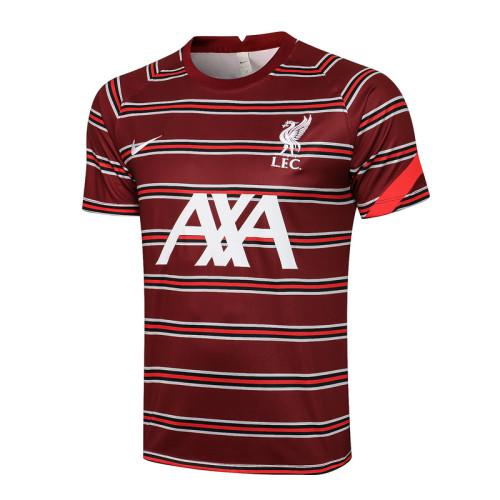Liverpool 21/22 Training Kit Red C666#