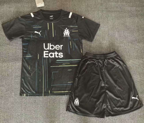 Olympique Marseille 21/22 Third Jersey and Short Kit