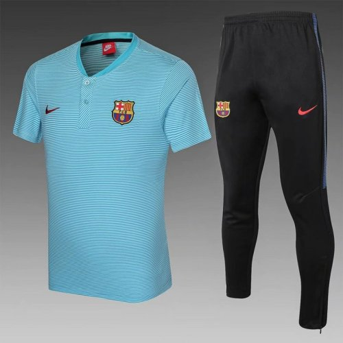 Barcelona 21/22 Pre-Match Polo Kit Blue C003#