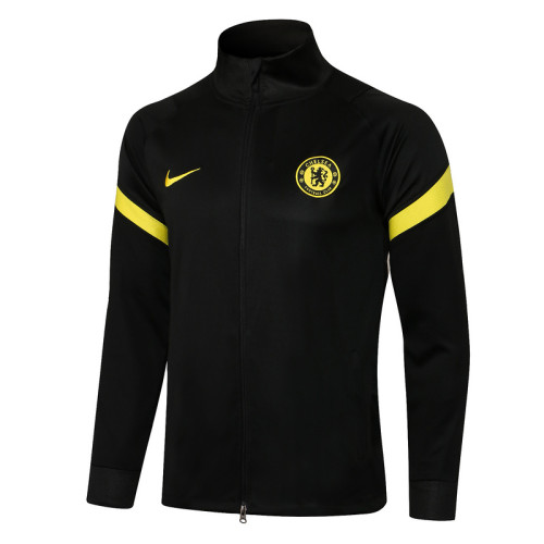 Chelsea 21/22 Jacket Tracksuit Black A437#