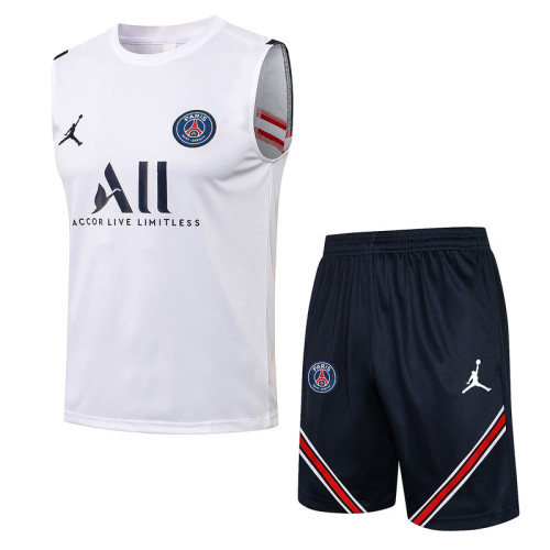 Paris Saint-Germain 21/22 Sleeveless Training Kit D587#