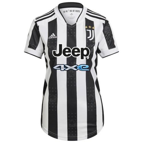 Thai Version Women's Juventus 21/22 Home Jersey