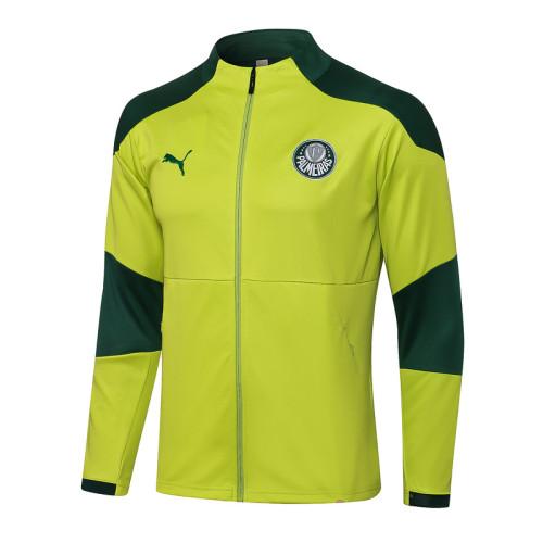 Palmeiras 2021 Jacket Tracksuit Fluorescent Green A436#