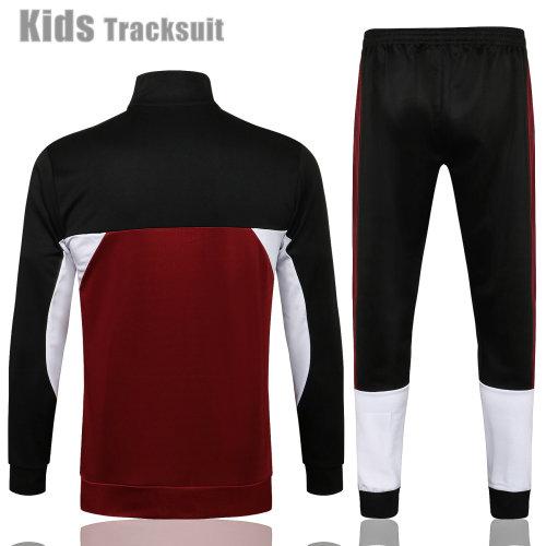 Kids Paris Saint-Germain 21/22 Jacket Tracksuit Purple E531#