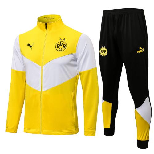 Borussia Dortmund 21/22 Jacket Tracksuit Yellow A442#