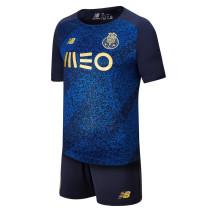 Kids FC Porto 21/22 Away Jersey and Short Kit