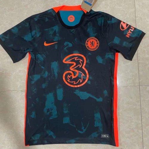 Thai Version Chelsea 21/22 Third Soccer Jersey