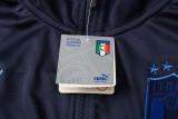 Italy 2021 Jacket Tracksuit Navy A443#
