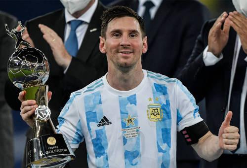 ARGENTINA 2021 HOME JERSEY - CAMPEONES DE AMERICA 2021
