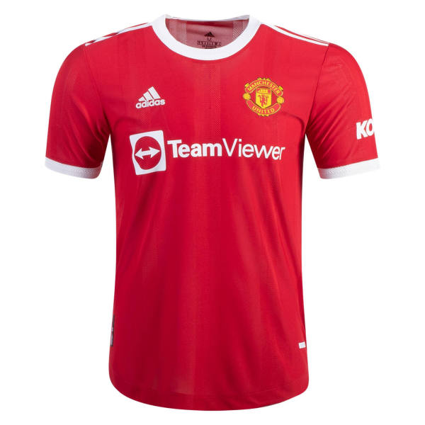 Player Version Manchester United 21/22 Home Authentic Jersey