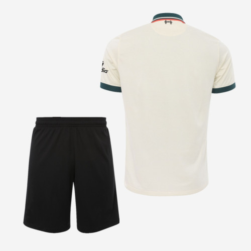 Liverpool 21/22 Away Jersey and Short Kit
