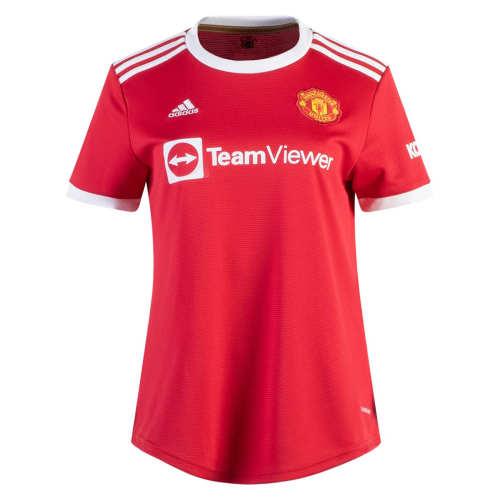 Thai Version Women's Manchester United 21/22 Home Jersey