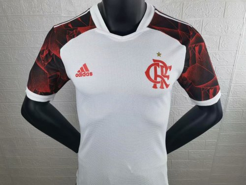 Player Version Flamengo 2021 Away Authentic Jersey