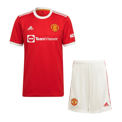 Manchester United 21/22 Home Jersey and Short Kit