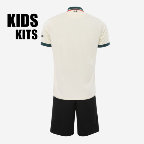 Kids Liverpool 21/22 Away Jersey and Short Kit