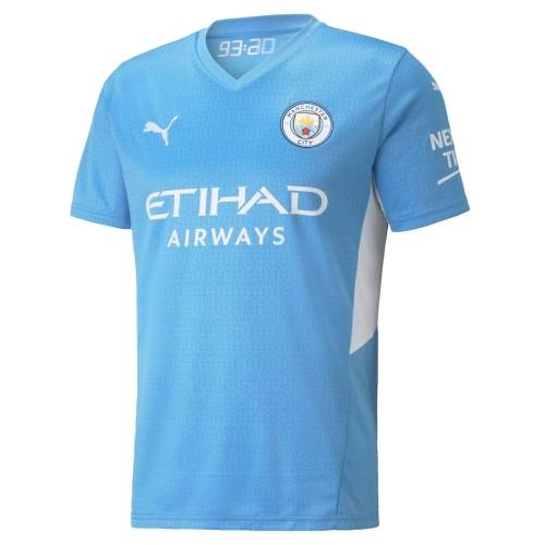 Thai Version Manchester City 21/22 Home Jersey