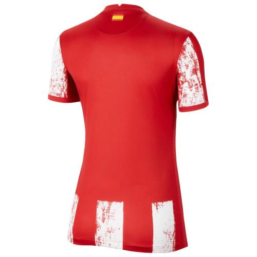 Thai Version Women's Atletico Madrid 21/22 Home Jersey