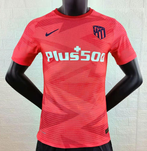 Player Version Atletico Madrid 21/22 Pre-Match Authentic Jersey