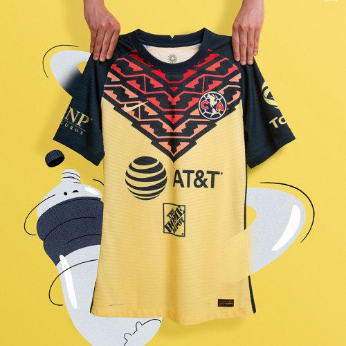 Player Version Club America 21/22 Home Authentic Jersey