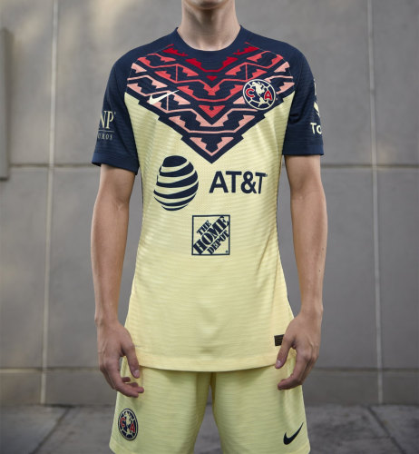 Club America 21/22 Home Jersey and Short Kit