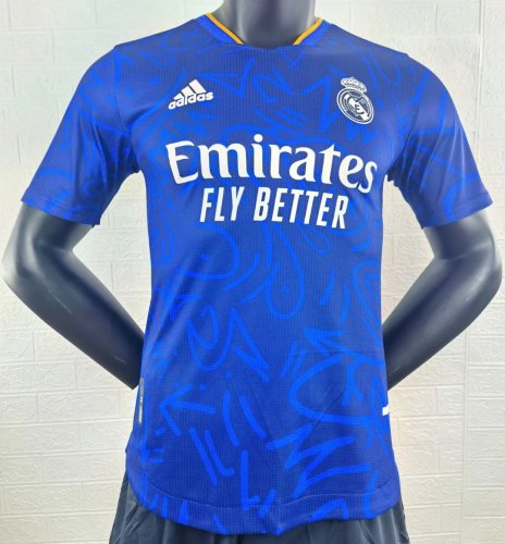 Player Version Real Madrid 21/22 Away Authentic Jersey