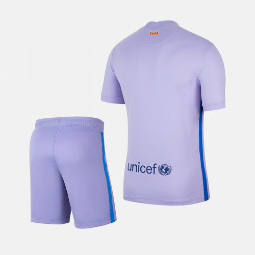 Barcelona 21/22 Away Jersey and Short Kit