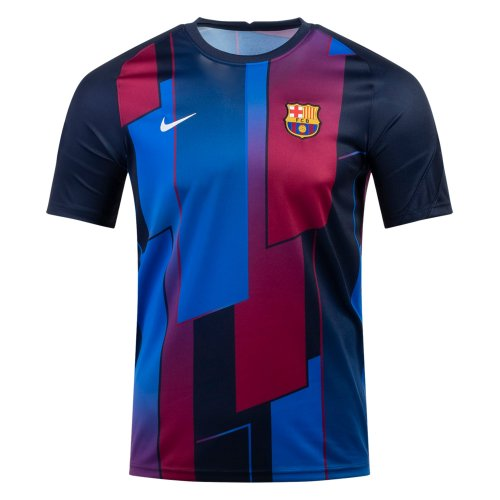Thai Version Barcelona 21/22 Pre-Match Training Jersey
