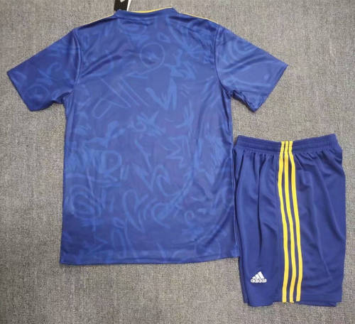 Real Madrid 21/22 Away Jersey and Short Kit