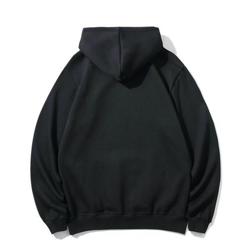Casual Wear Brand Hoodie Black 2021.7.17