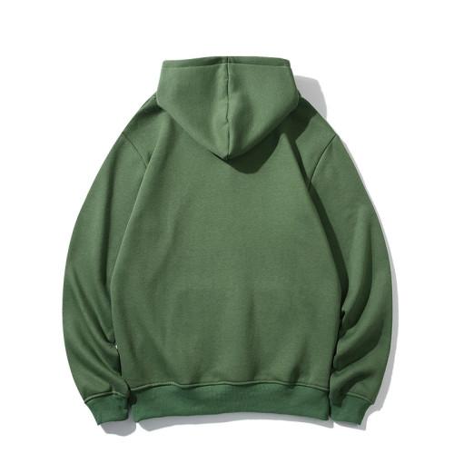 Casual Wear Brand Hoodie Green 2021.7.17