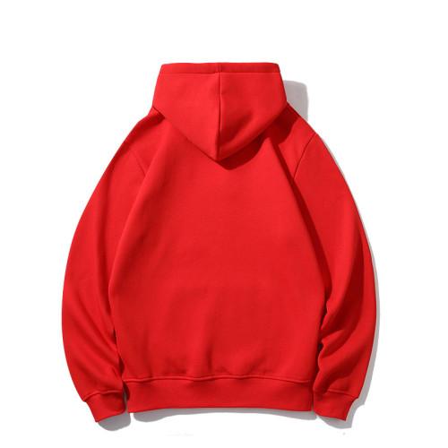 Sports Brand Hoodies Red 2021.7.17