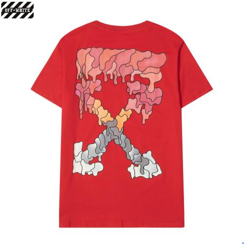 Streetwear Brand T-shirt Red 2021.7.17