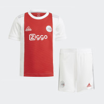 Kids Ajax 21/22 Home Jersey and Short Kit