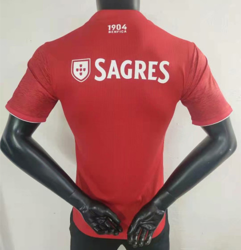 Player Version Benfica 21/22 Home Authentic Jersey