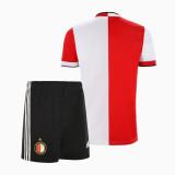 Kids Feyenoord Rotterdam 21/22 Home Jersey and Short Kit